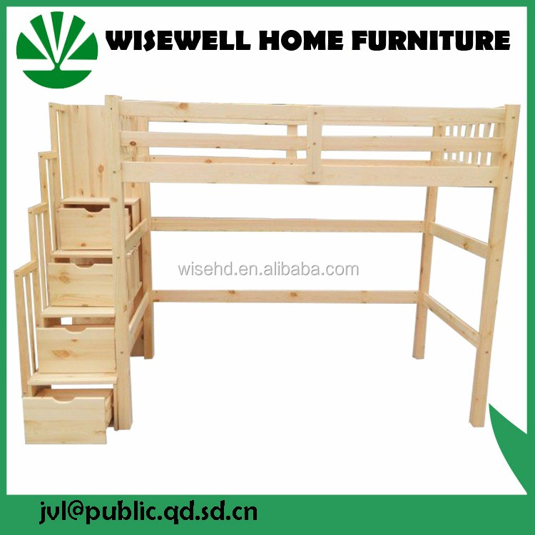 ( WJZ-B69 ) solid wooden bedroom furniture beds