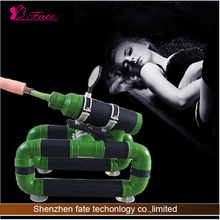 Electric Vibrating best 110-240V powerful green tank vagina sex machine for sale