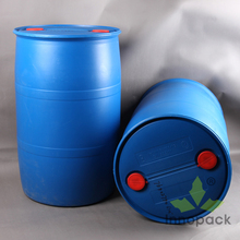 large blue plastic drum 55 gallon plastic fuel containers water barrels