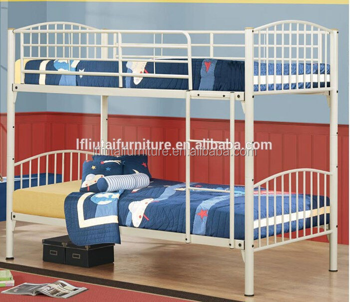 Wholesale high quality and low price double decker shaped Really cheap beds