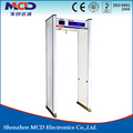 high stability 33 zones metal detector walk through arch gate/advanced security door frame metal detector