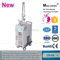 China factory co2 laser 30w/co2 laser machine price 3 in1 vaginal tightening & acne scar removal