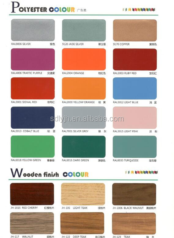 1500*3050mm 0.21mm 3mm 4mm aluminum composite panel for outdoor sign board material / advertising board / signage board