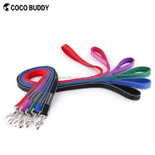 COCO BUDDY Sturdy Nylon Dog Leash Soft and Durable Neoprene Padded Dog Leads with Reflective Timming