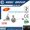 2014 NSSC anygel eye led marker H8-32w for 1 series 3 series 5series