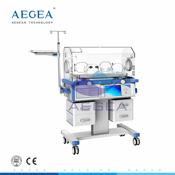 AG-IIR002 hospital movable newborn baby intensive care treatment china incubator