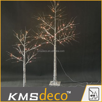 IP44 outdoor garden decoration 72L 1.5M led birch tree light with transformer