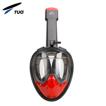 Watersport swimming&diving liquid silicone full face scuba snorkel diving mask