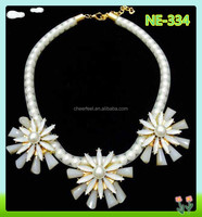 2015 Fashion summer necklace with beads for decoration