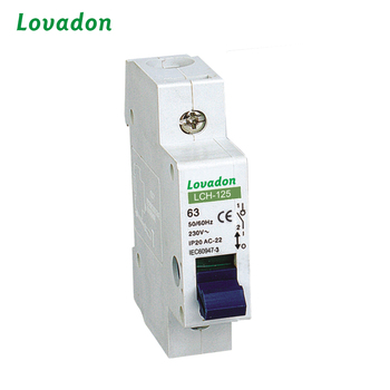 Isolating Switch LCH-125 32A/63A/100A Miniature Circuit Breaker