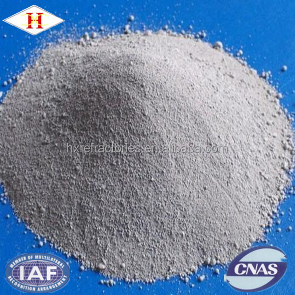 Refractory castables power shape alumina spinel castable