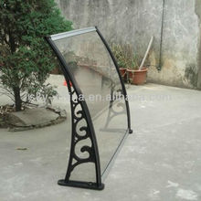 Good anti-UV protection stainless steel canopy for door