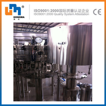 CE ISO9001 production line carbonated can filling machine
