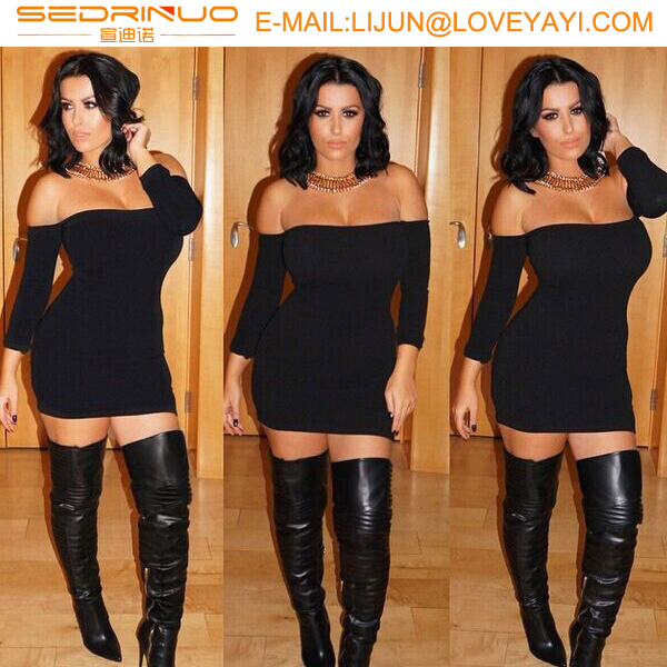 Wholesale Spandex Fabric Fat women fashion Without Bra Middle aged ...