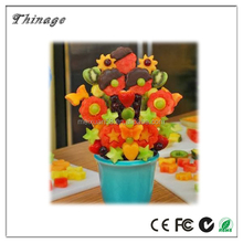New fashion nice Birthday Gifts Mom Chef pop 10-pc Perfect fruit decoration Fruit and Vegetable POP and Chef