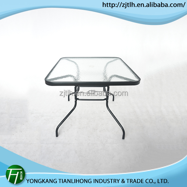 Factory Manufacturer glass top conference table