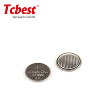small dry cell battery 3v cr1220, lithium button cell 3v CR1220 for camera and remote control/