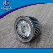 Langma New design spot light gu10 7w cob led white aluminum spotlights led