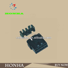 8-way male and female electrical connectors DJ7081A-2.8-21waterproof clip connector plastic square tube connector