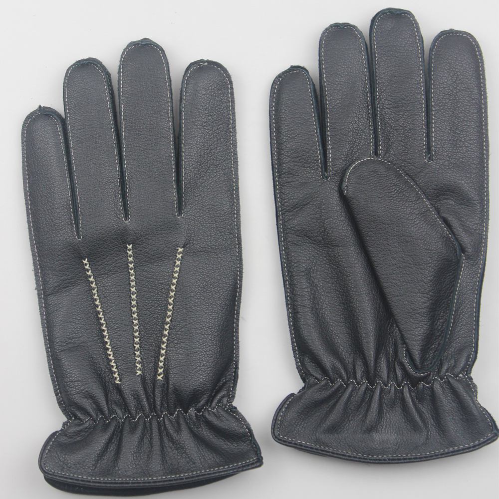 Alibaba China manufacturer supplier winter warm comfortable and beautiful leather gloves & custom made leather gloves men