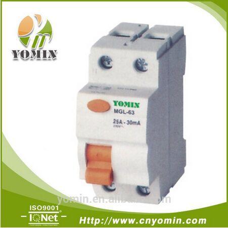 Производитель MGL-63 25A-30mA Утечки УЗО, Устройство остаточного Тока Автоматический Выключатель/Электротехническое оборудование