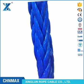 CHNMAX Excellent UV Stabilized UHMWPE marine mooring towing sling rope