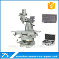 Chinese vertical knee-type milling machine tool on sale
