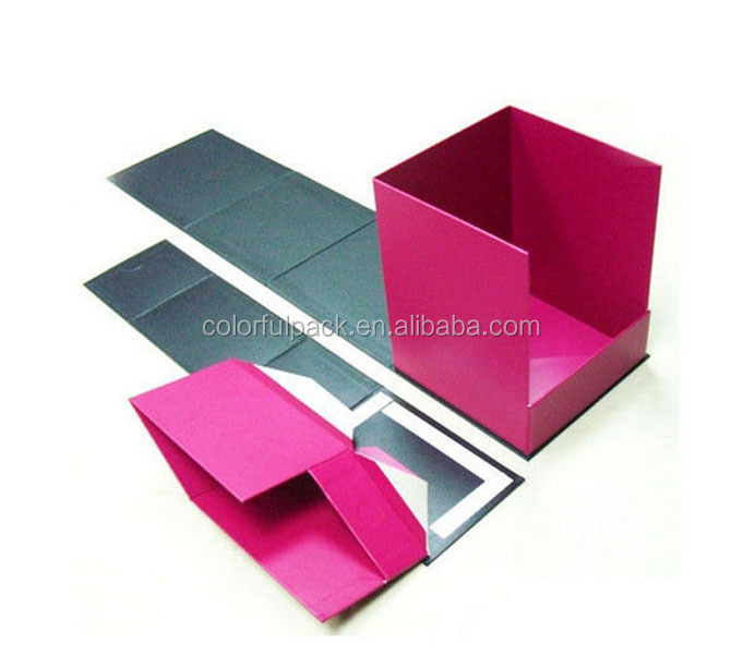 cost effective elegant design hard paper box/white paper box/foldable paper box