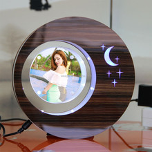 LED suspending in the air magnetic levitation photo frame cheap mothers day <strong>gifts</strong>