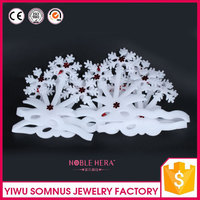snow white foam snow flower crafts for christmas walls decors