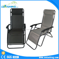 Folding recliner Sunbed Outdoor With Cushion Cheap Foldable Beach Lounge Chairs highchair portable