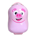 Pink Customized Kids Luggage ABS PC Kids Travel School Luggage