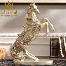 Handmade Resin Horse Sculpture Statue for Resin Arts and Crafts