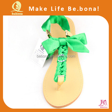 2014 Latest Sandals For Women And Girl Green Unique Upper For Sandals