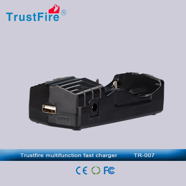 new product trustfire TR-007 battery charger 18650 usb battery charger wholesale hot selling mobile phone accessory