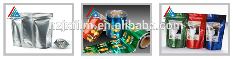 Metallized PET Film For Flexible Packing