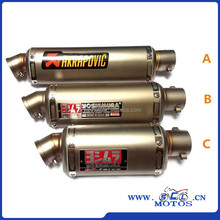 SCL-2016040049 Hot Selling China Supplier Motorcycle Exhaust Pipe Motorcycle Emgine Muffler