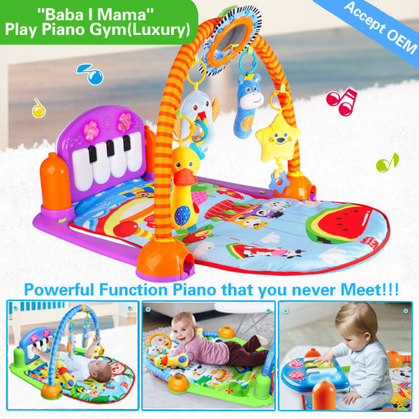 HX9108 32M memory multifunction piano function best baby playmats for babies