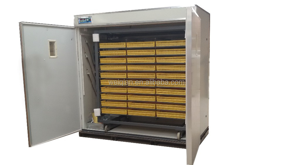 2015 best quality incubator 5000 egg(5280 eggs incubator)