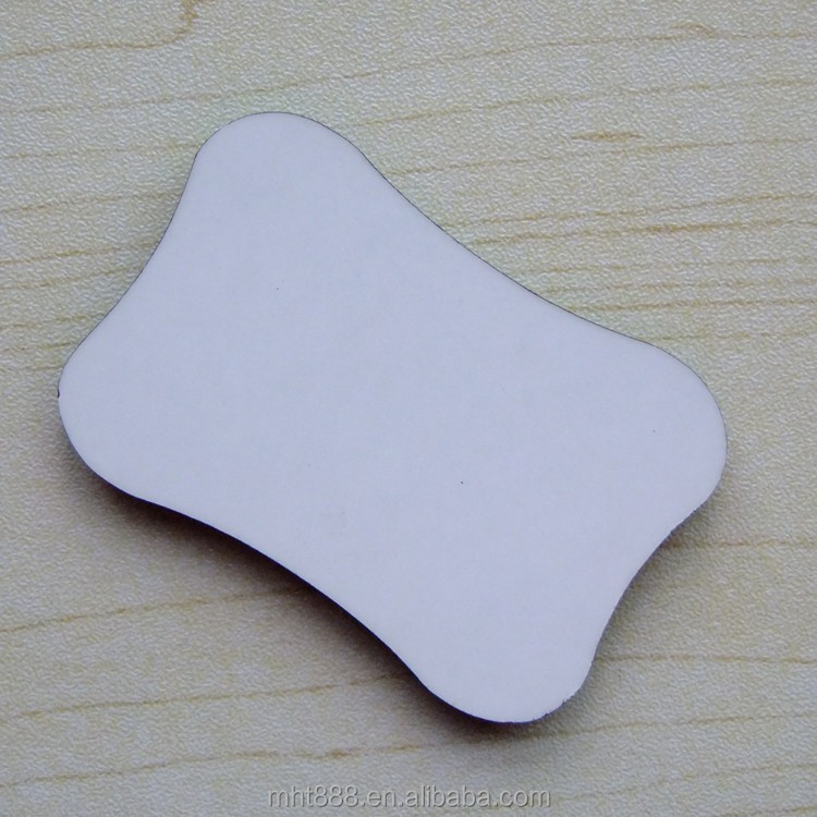 Sublimation blank MDF Fridge Magnet _ bones-shape P306
