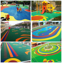Sports surface,epdm rubber manufacturer. good quality EPDM granules flooring, artificial grass FL-R-11135 price of crumb rubber