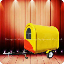 2013 World leading!! Street Tow Bar Italian Ice Cream Food Service Cart Kiosk with Door XR-FC220 B