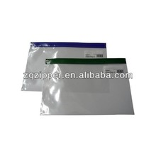 Hot Clear PE Plastic Mesh Zipper Bag Mesh Document Bag