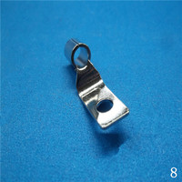 Zinc-Plating Spring Button Clips with High Quality in China