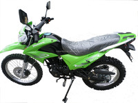 2015 new design 250 cc dirt bike with Green Colour