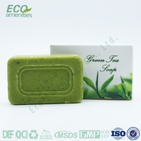 green tea massage organic soap brand names for manufacturers in box
