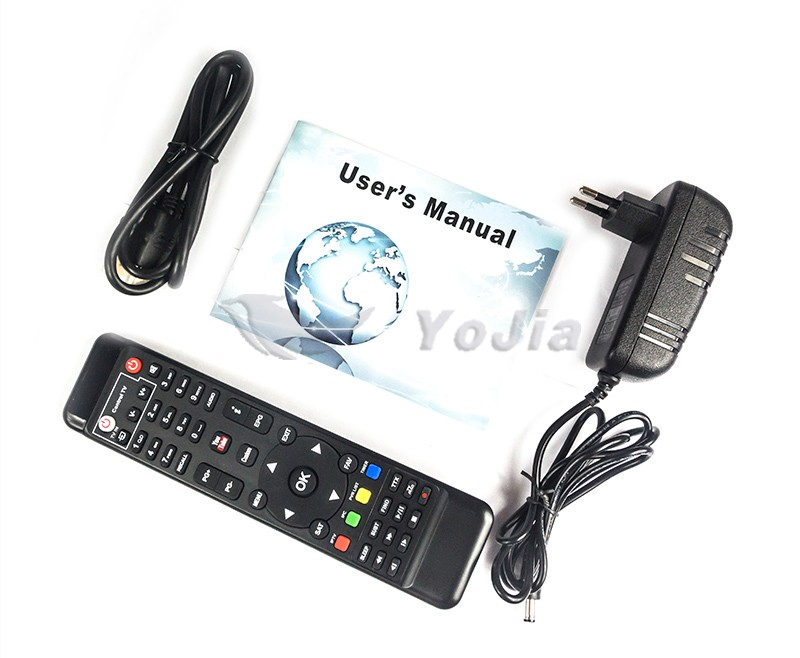 [Genuine] V8 Super DVB-S2 Satellite TV Receiver Support PowerVu Biss Key Cccamd Newcamd Youtube Youporn USB Wifi Set Top Box
