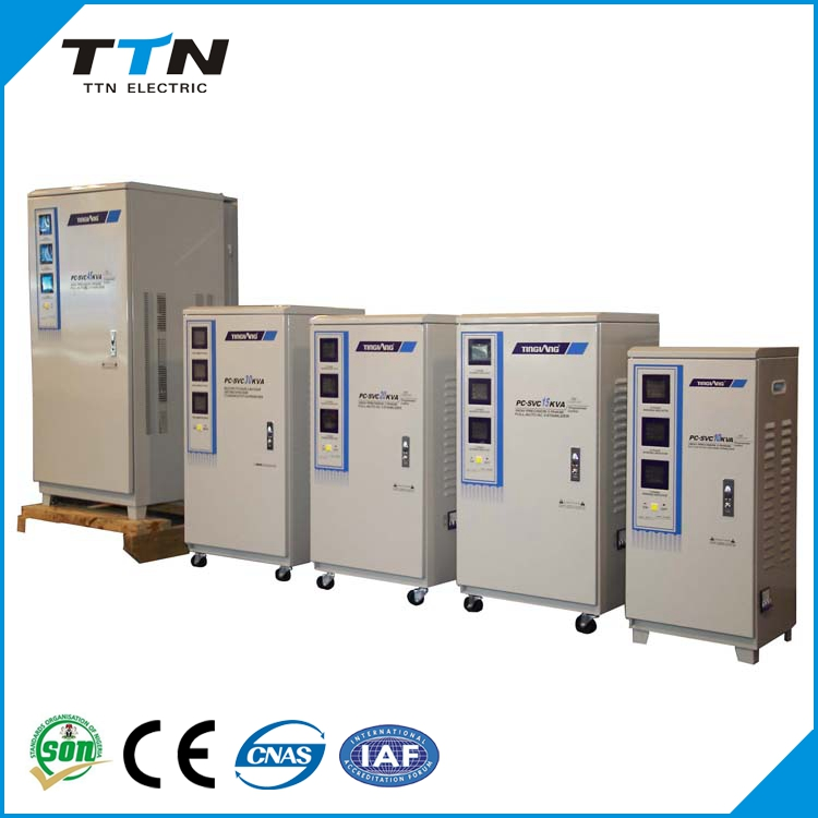 PC-SVC china supplier avr servo voltage stabilizer price / 3 phase automatic voltage regulator