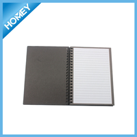 Hardcover Classic spiral Note Books with pen for children