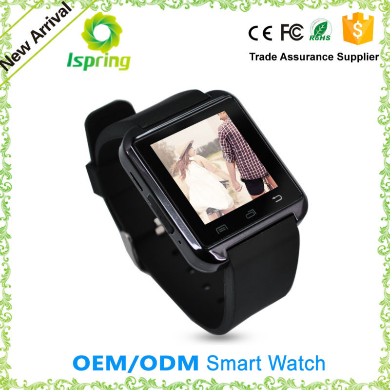 cheapest smart bluetooth headset watch u8 with phone call for mobile